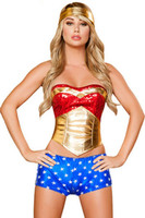 Superhero Spider Wonder Woman Adult Spider Costume Hippie Dress Body Shaper Groove Girl
