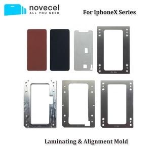 Image 1 - עבור iPhone X XS XSMax XR 11 פרו מקסימום LCD עובש למינציה מסך מתאים YMJ BM סדרת Novecel Q5 a5 למינציה mahcine