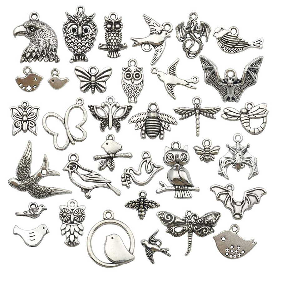 Factory Direct 20PCs/Bag Animal Shape DIY Jewelry Accessory Tetro DIY Jewelry Making Earrings Pendant Bracelet Accessories