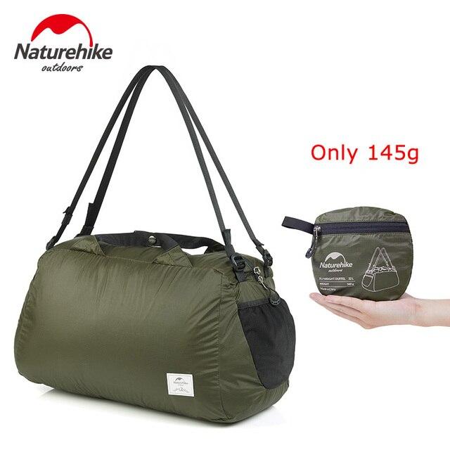 Naturehike Travel Bag Ultralight Folding Waterproof bags Storage Bag for Men Picnic Bag NH17F010-D