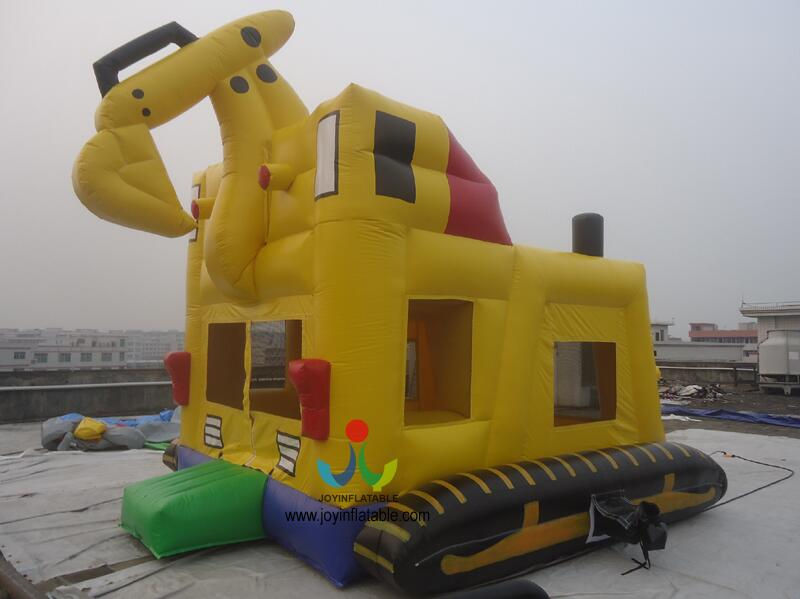 5 5M Inflatable font b Bouncer b font Digger Luxury and High Quality Giant Excavator Mini