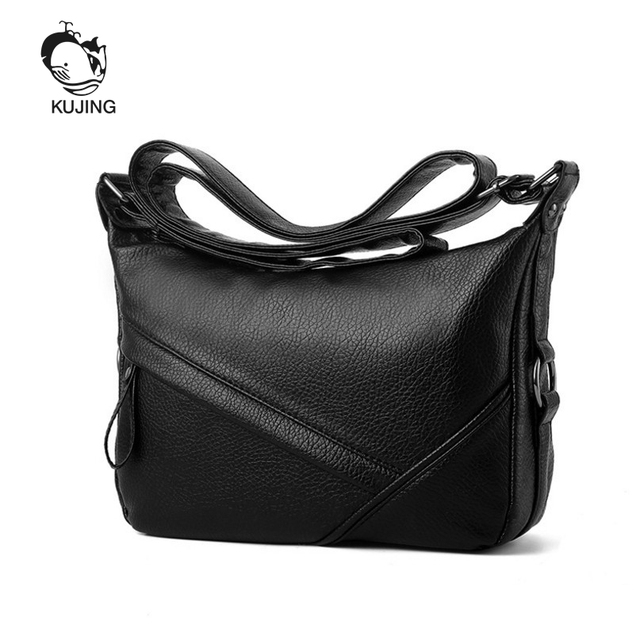 4b54c74b47b9 US $21.44 45% OFF|KUJING Handbags High Quality Middle And Old Women  Shoulder Messenger Bag Hot Cheap Mother Bag Shopping Street Leisure Women  Bag-in ...