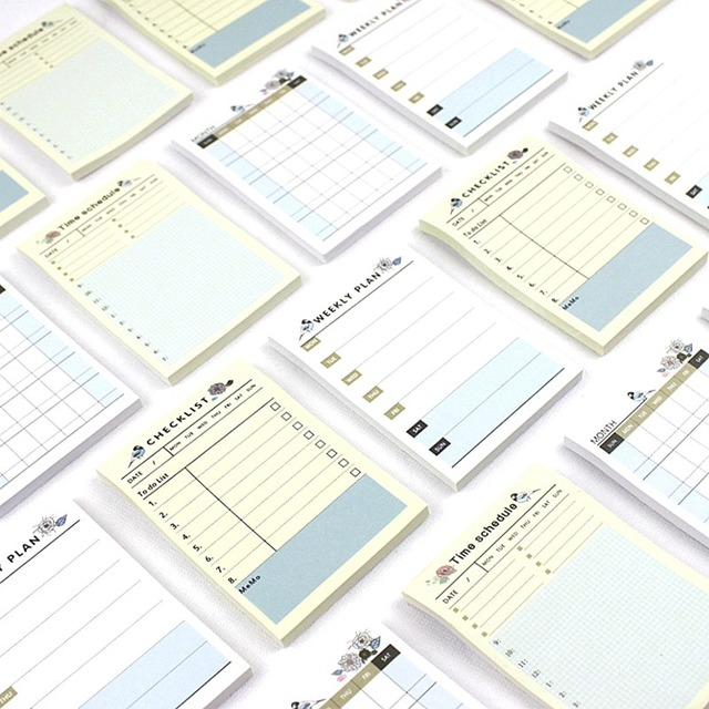 Cute Kawaii Weekly Monthly Work Planner Book Diary Agenda Dokibook