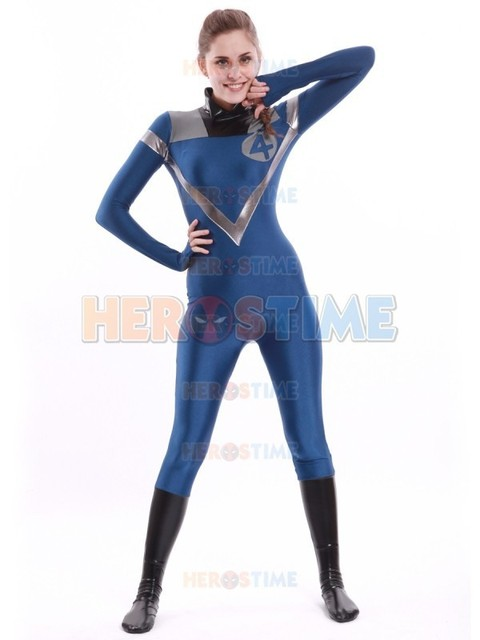 Al982fantastic Four Invisible Woman The Most Popular Halloween Cosplay Party Show Female Zentai