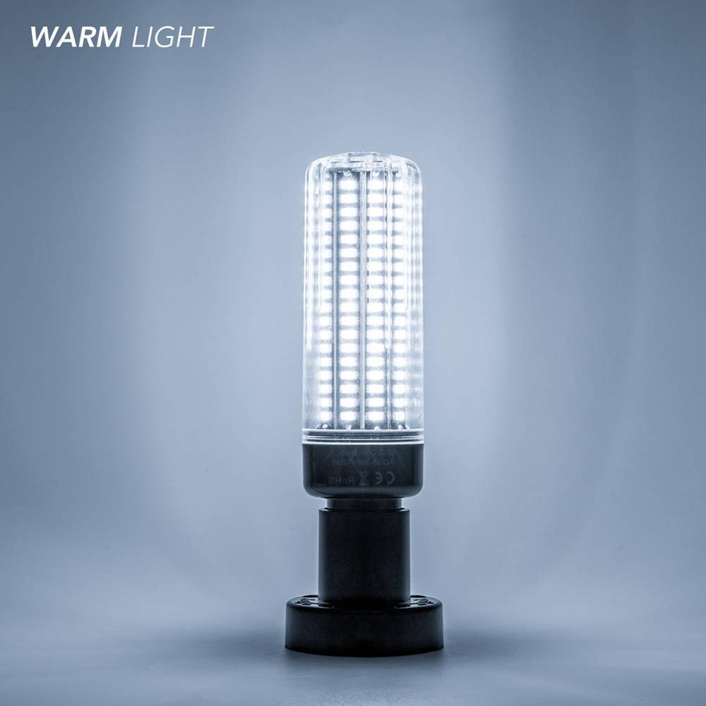 E14 кукурузная лампа E27 светодиодные лампы 220 В B22 Высокая мощность 28 40 72 108 132 156 189 Светодиоды SMD 5736 лампада LED 110 В без мерцания 85-265 в - Испускаемый цвет: White