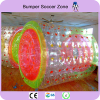 Free Shipping 3*2.4m TPU Zorb Ball Inflatable Roller Ball Outdoor Water Games Inflatable Water Roller Ball Free a Pump
