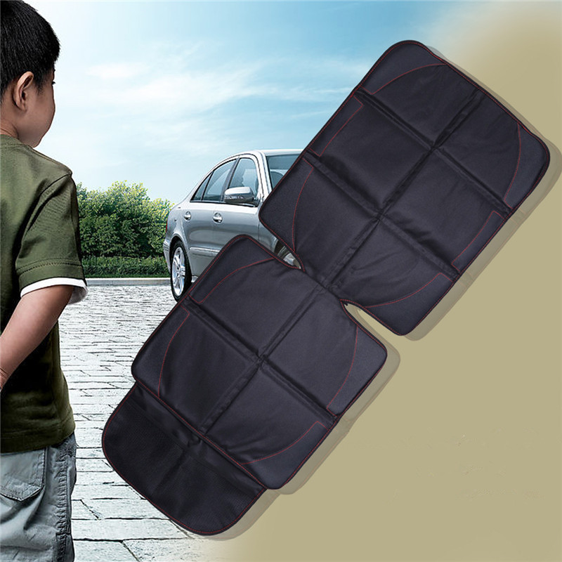 Car Seat Cover Oxford Luxury Leather Breathable Anti-Slip Protector Child Baby Auto Seat Protector Mat 123x48cm (6)