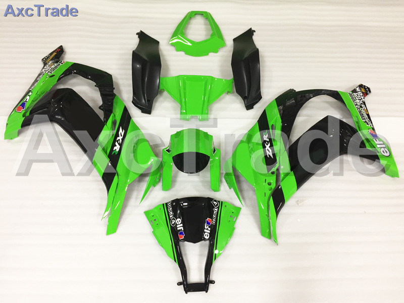 Motorcycle Fairings Kits For Kawasaki Ninja ZX10R ZX-10R 2011-2015 11 - 15 ABS Plastic Injection Fairing Bodywork Kit Green A819 moto motorcycle fairing kit for kawasaki ninja zx10r zx 10r 2008 2009 2010 08 09 10 abs plastic fairings fairing kit white black