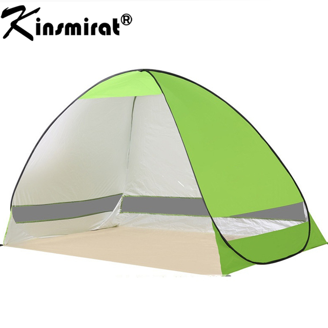 2017 Beach tent sun shelter UV-protective quick automatic opening tent shade lightwight pop up  sc 1 st  AliExpress.com & 2017 Beach tent sun shelter UV protective quick automatic opening ...
