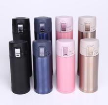 350/500 ML taza del vacío del acero inoxidable garrafa termica Thermocup termo taza de Viaje Tazas de Café