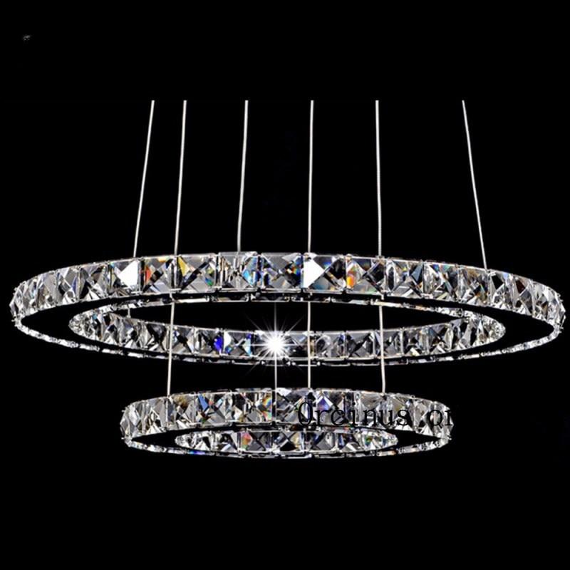 Modern LED Crystal Chandelier Lights Lamp For Living Room Cristal Lustre Chandeliers Lighting Pendant Hanging Ceiling Fixtures led crystal chandeliers lamp round ring hanging lights modern led crystal chandelier fixture for living room lobby ac110v 240v