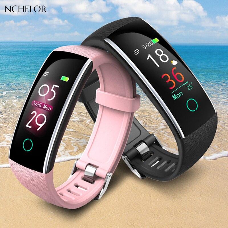 Leisuresport smart watch women Heart rate Heart rate Sport Wearable Devices Color screen Smart bracelet waterproof woman watches цена 2017