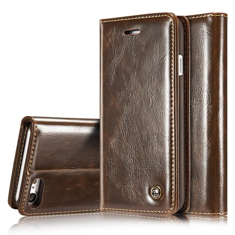 Caso de couro de luxo para o iphone 5 5S se 8 7 plus 6 s mais caso cartão magnético carteira capa para o iphone x xr xs max caso do telefone da aleta