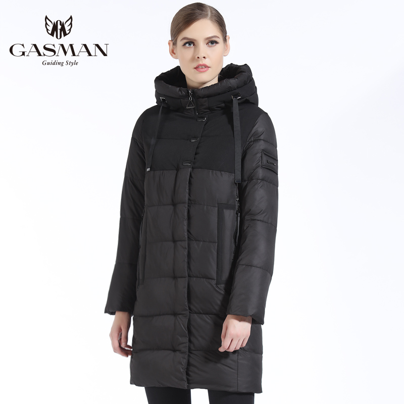 GASMAN 2018 Brand Women Winter Jacket Casual Women Thickening Hooded Down   Parka   Women's Windproof Coat Bio Down Jacket for Women