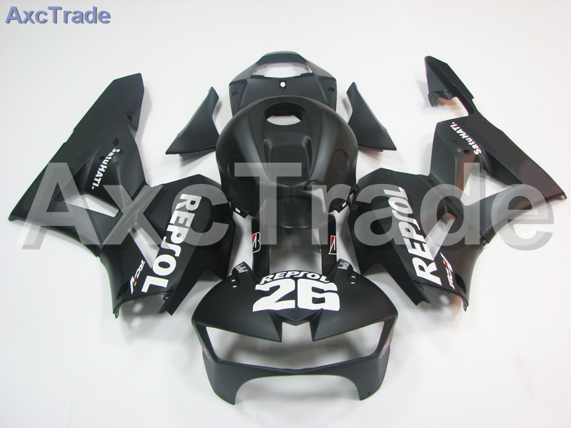 Motorcycle Fairings For Honda CBR600RR CBR600 CBR 600 2013-2015 13 14 15 F5 ABS Plastic Injection Fairing Bodywork Kit Black 524 abs injection fairings kit for honda 600 rr f5 fairing set 07 08 cbr600rr cbr 600rr 2007 2008 castrol motorcycle bodywork part