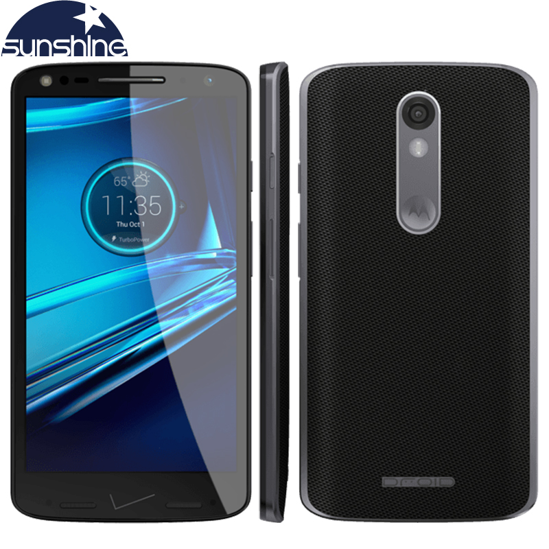 "Original Motorola DROID turbo 2 XT1585 LTE Mobile Phone 5.4"" 21.0MP Octa Core Snapdragon810 3GB RAM 32GB/64GB ROM Smartphone"