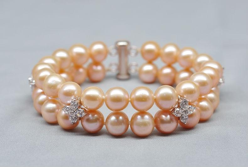 freshwater pearl bracelet 22