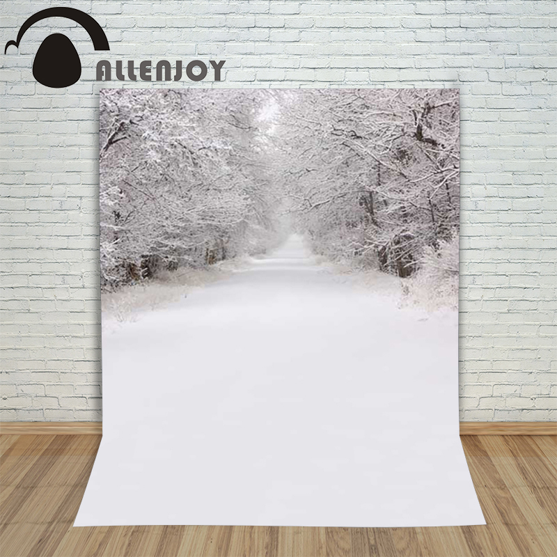 Christmas children's photo background Snow forest winter purity backdrop photography studio photo camera holiday
