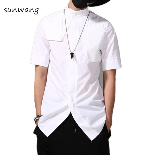 Luxe Slim Shirt Mannen Blouse Fit Harajuku Designer 2018 Fashion mNwyO8vn0