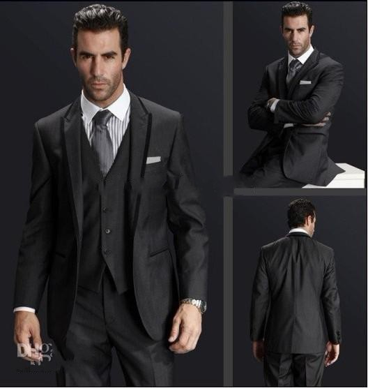 Online Get Cheap Charcoal Grey Suit Vest -Aliexpress.com | Alibaba ...
