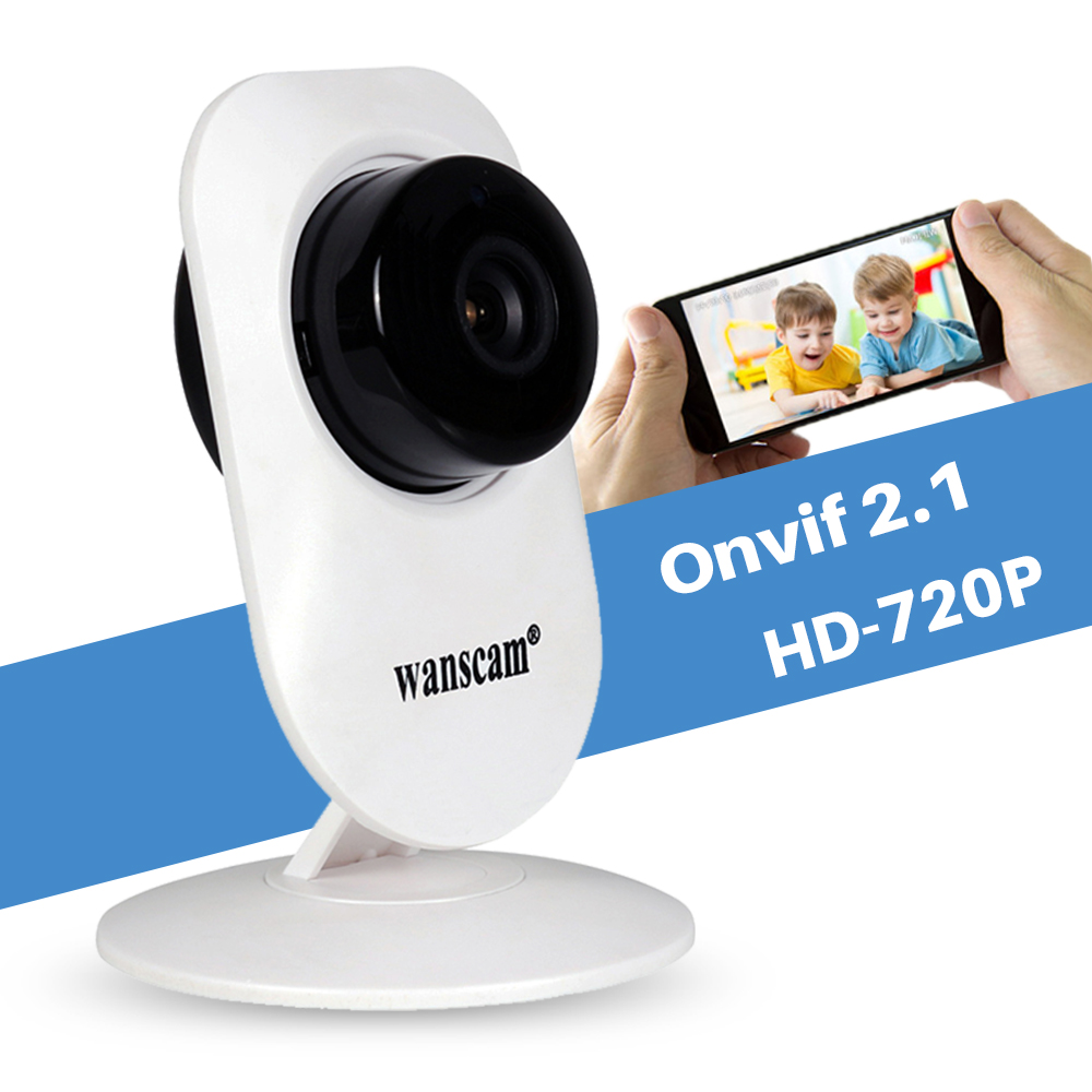Wanscam HW0026 Mini Smart Wireless 1MP HD 720P IP Camera WiFi Security Surveillance P2P Baby Monitor 2 Way Audio IR Night Vision howell wireless security hd 960p wifi ip camera p2p pan tilt motion detection video baby monitor 2 way audio and ir night vision