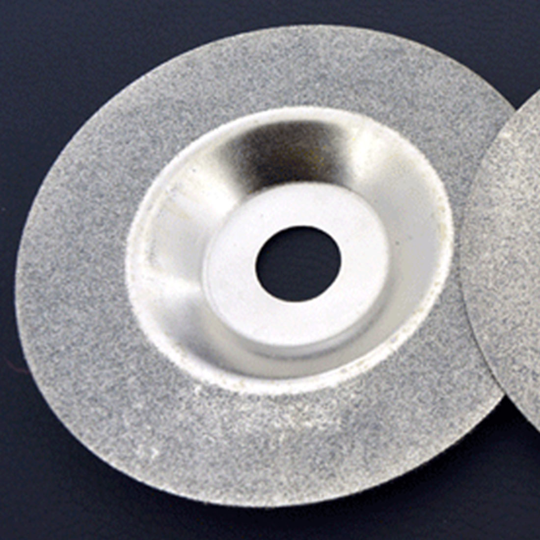 100mm 4 Inch Diamond Coated Grinding Polishing Grind Disc Saw Blade Rotary Wheel Silver