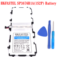 HKFASTEL New SP3676B1A 1S2P Battery For Samsung Galaxy Note 10 1 Tab 2 P5100 P5110 P7500