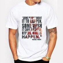 2016 Summer FashionThe god of basketball Michael Jordan Design T Shirt Men