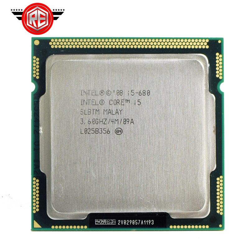 Prix pour Intel Core i5 680 SLBTM De Bureau CPU Processeur LGA1156 3.60 GHz 4 MB 2.5 GT/s