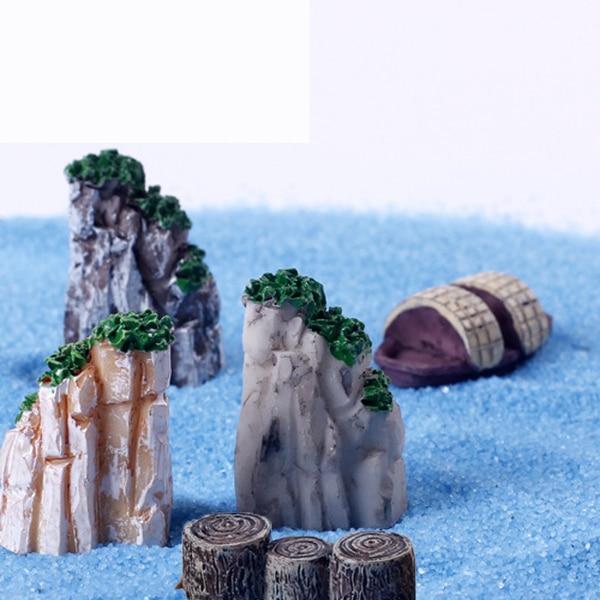 7pcs Resin Craft Fairy Garden Gnome Ornament Jardin Lake Ocean Miniature  Terrarium Decoration Tools Mini Rockery Boat Stakes DIY. Oceans Garden Furniture Reviews   Online Shopping Oceans Garden
