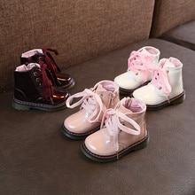 beb08604a الاطفال الأحذية الطفل الأطفال الدافئة الفتيان الفتيات مارتن حذاء الثلوج  الطفل حذاء كاجوال البسيطة ميليسا zapatos موديس