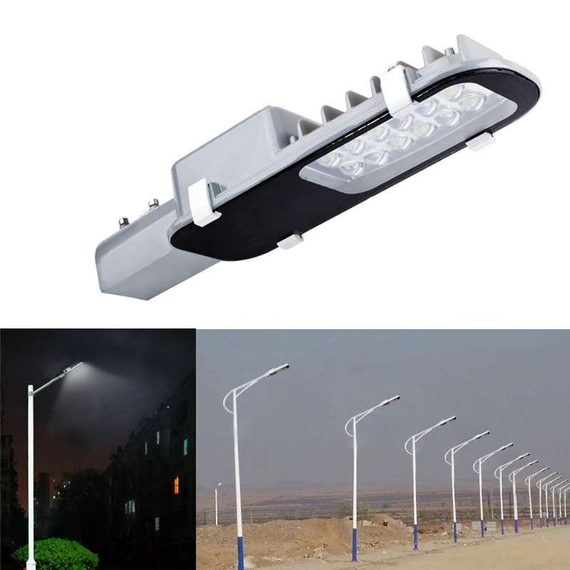 50pcs LED Street Light 12W 24W Lampu Jalan kalis air IP65 AC85-265V - Pencahayaan luar