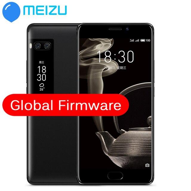 """Meizu Pro 7 плюс 6 ГБ 64 ГБ 4 г LTE MTK helio X30 Дека Core 5.7 """"2 К экран двойной Сзади 12.0 м Быстрая зарядка сотового телефона двойной Экран"""
