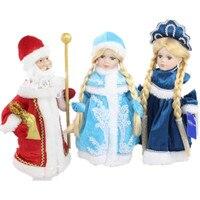 12 بوصة 2016 جديد سنو الأميرة زخرفة الخزف الدمى 30 سنتيمتر snowmaid snowgirl روسيا الشتاء الاطفال هدايا عيد