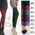 2pcs Women Leggings Microfiber Thermo Fleece Lined Thermo in Solid Black Color Super Soft and Warm for Winter