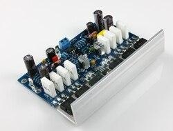 L25 250W+250W 8ohm Class AB KEC KTB817 KTD1047 2SA1186 2SC2837 Amplifier Completed board with heatsink