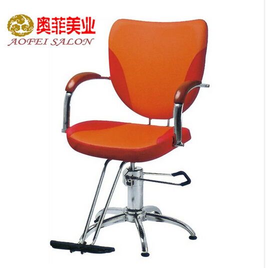Hairdressing chair. Shampoo bed. Swivel chair.