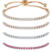 fashion crystal bracelet ladies wedding charm bracelet and bracelet bracelet ladies statement jewelry 2018(China)