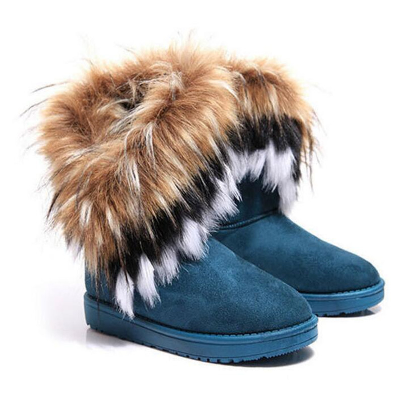 03 42 Piel Zapatos 36 02 Casuales Abrigo Las De Nieve 01 Invierno Calzado Mujer Mujeres Botas Nuevo C4qaO0x