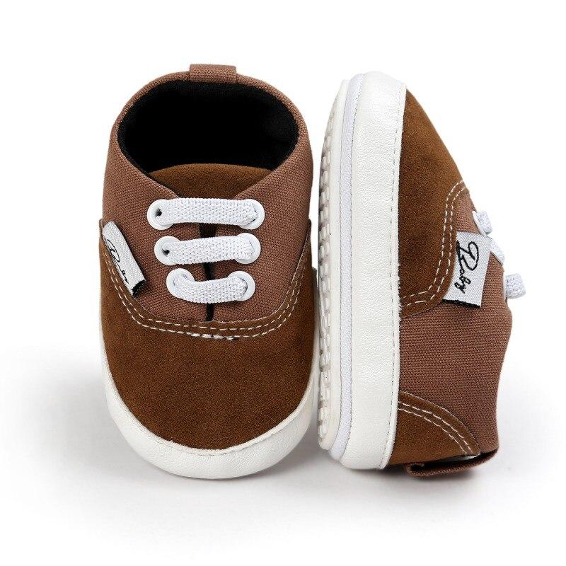 Купить с кэшбэком Baby Girl Shoes Spring Autumn Fashion Toddler Baby Shoes Newborn Girl Boy Soft Sole Anti-skid First Walkers