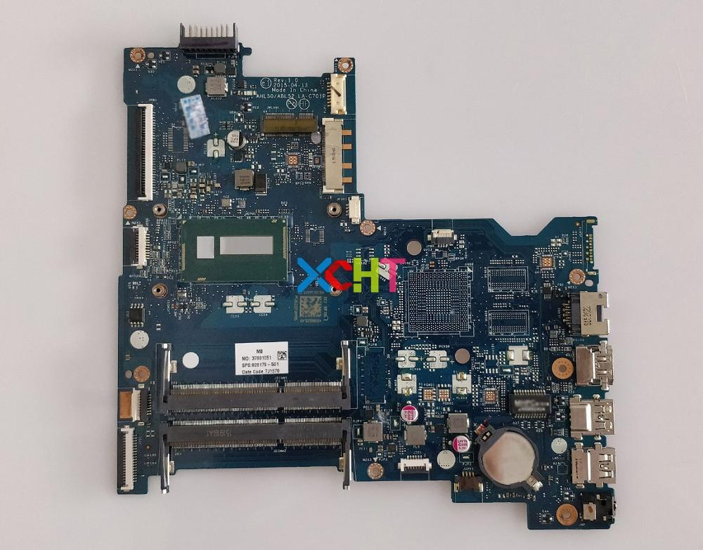 for HP 15 AC Series 15T AC100 828179 501 828179 001 828179 601 AHL50/ABL52 LA C701P Laptop Motherboard Mainboard Tested-in Laptop Motherboard from Computer & Office