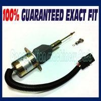RE53507 Fuel Shutoff Solenoid John Deere 4955 4560 4760 4960 644G Loader