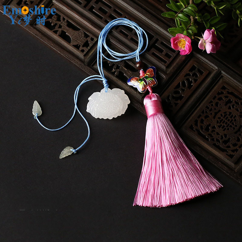 Brand Vintage Bookmark Classical Chinese Style Gifts Creative Stationery Tassels Rope School Bookmark Stationery Art Gifts M117