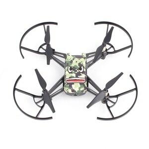 Image 4 - Adesivos de desenhos animados para drone dji tello, 3 peças adesivos coloridos para peças de reposição rc acessório