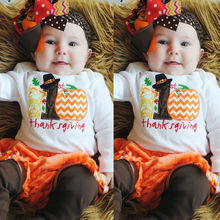 Newborn Kid Infant Baby Boy Girl Long sleeve Romper Jumpsuit Pumpkin Unisex Romper Outfits