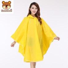 Travel Raincoat Cycling-Rain-Rainwear Bicycle Outdoor Waterproof Woman Thick Fashion