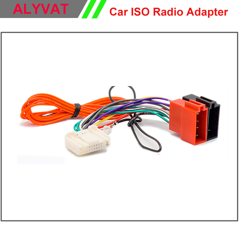 car radio stereo iso wiring harness adapter for nissan. Black Bedroom Furniture Sets. Home Design Ideas