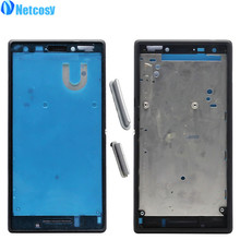 Netcosy New Middle Mid Plate Frame Bezel Housing Cover for Sony Xperia M2 S50h Middle Frame Board Cheap Replacemenrt Repair