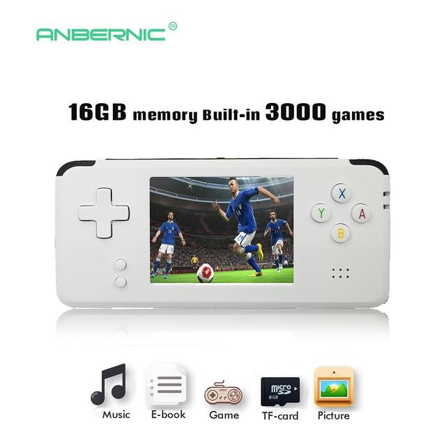 2018 Portable Video Handheld Game Console Retro 64 Bit 3 Inch 3000 Video Game Retro Handheld Console to TV RS-97 RETRO-GANE 07
