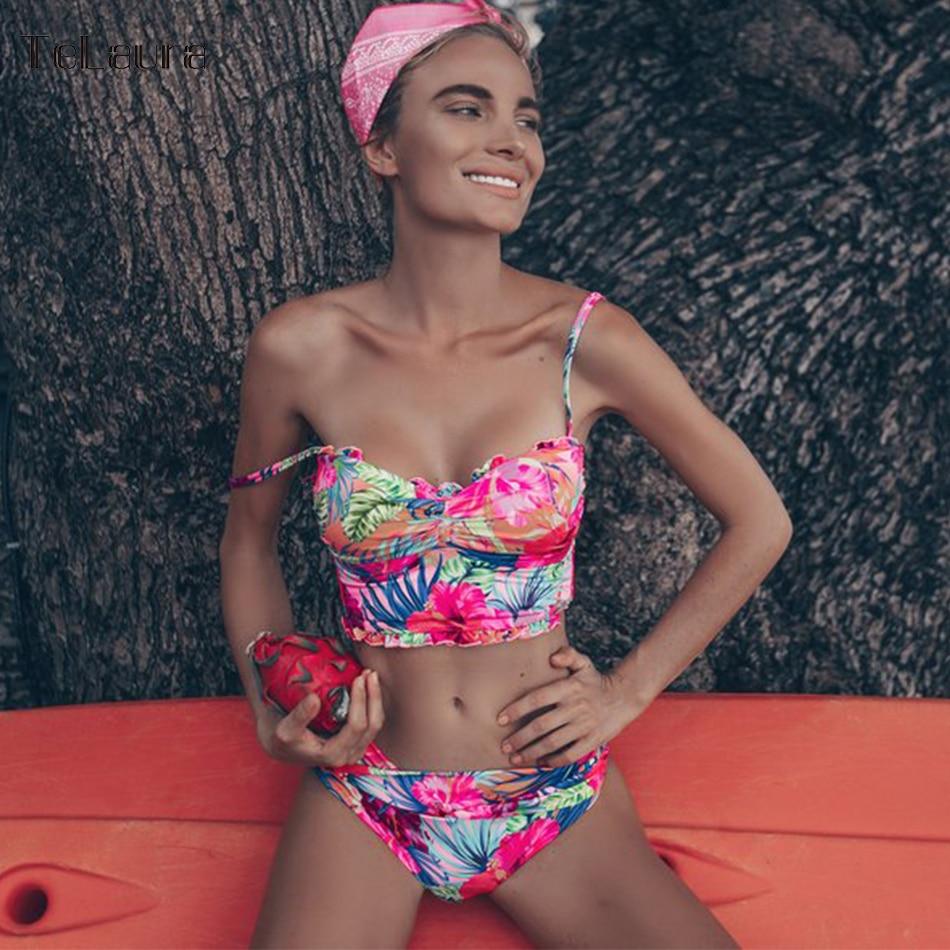 2019 New Sexy Bikini Swimwear Women Swimsuit Push Up Biquini Bathing Suit Brazilian Bikinis Summer Beach Wear Swim Suit Female